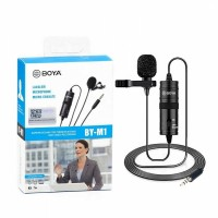 Boya M1 Professional & Official Microphone For Online Clear Sound Recording By Smartphone, DSLR & Any Device.