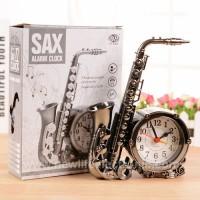 Sax Alarm Clock Creative Antique Home Student