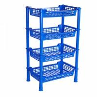 4 Step Beauty Rack SM Blue