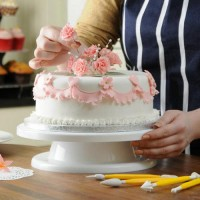 Cake Decorating Turntable White KY923