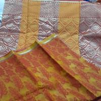 half silk sharee for womens.