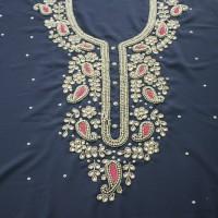 Karchupi Kameez Dress For Women (1 Piece) Black