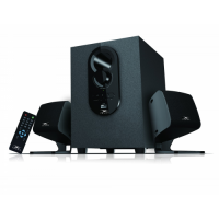 Xtreme E129BU 2:1 Speaker (BT,USB & Remote with 1 year warranty) Bluetooth Multimedia Speaker
